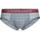 Icebreaker M's Anatomica Briefs vapour/vintage red/stripe